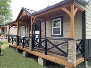 cindy bear creekside cabin exterior
