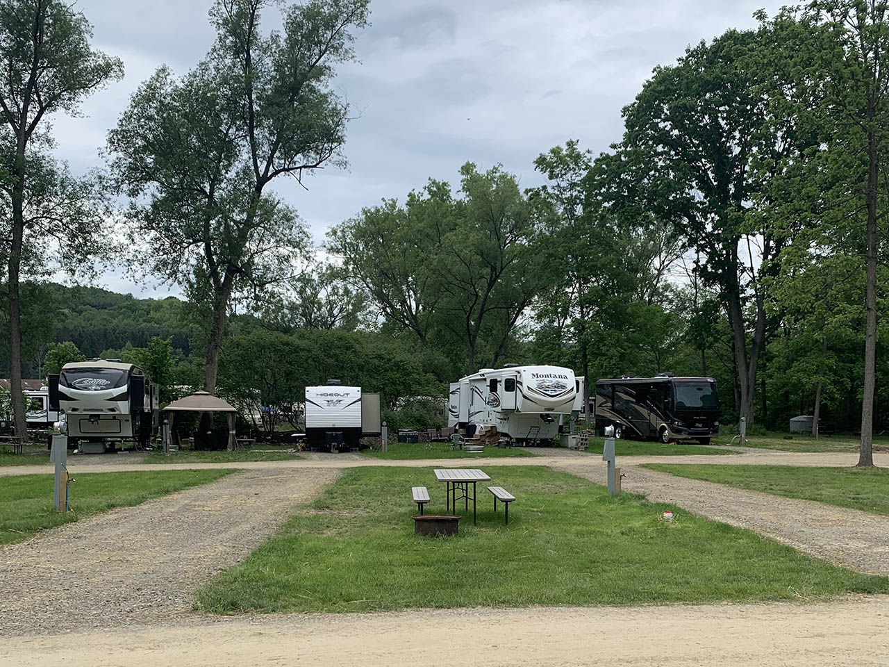 meadows camping area sites